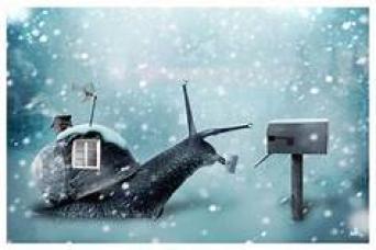 Winter Snail Mail ~  No description included.