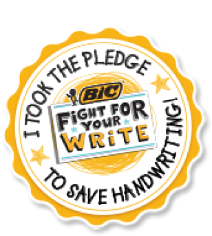 Pledge Handwriting ~  No description included.