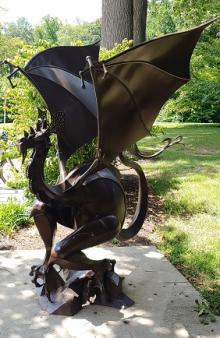A Night Rider from Mordor ~ Howard County Library encourages readers to let flights of fancy reign.