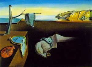 A painting by Salvador Dali