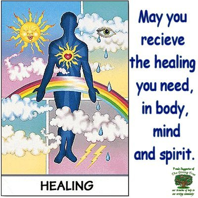 Healing cNote for TheGivingTree cNote Hive
