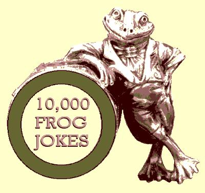 Ten Thousand Frog Jokes Header
