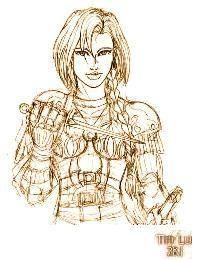 Half Borgevna and half Morivini and destined to save her world.