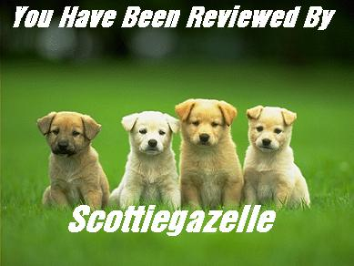 A gift from Pixie; my doggies on review!