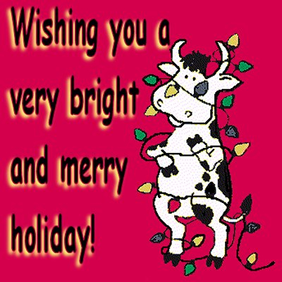 Wishing a Bright and Merry Holiday