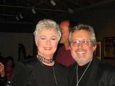 Mark Solomon and Shirley Jones