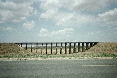 Along Route 56 in Southwest Kansas, July 2004.