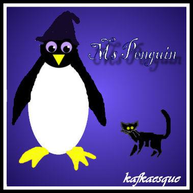 Penguin sig made by Kaf!
