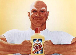 a picture of Mr. Clean