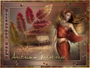 The third beautiful installment of the seasonal Mistress sigs.