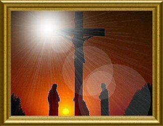 The Crucifixion of Jesus Christ.