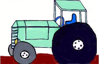 This is an illustration for my children's book of vehicles.