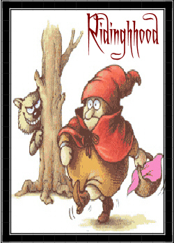 ridinghood is croning!
