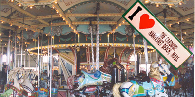 carousel in nantasket beach, ma