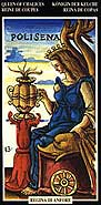 queen of cups from the sola busca tarot