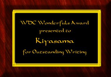 A Lovely Award from J.R Pittman! ^_^