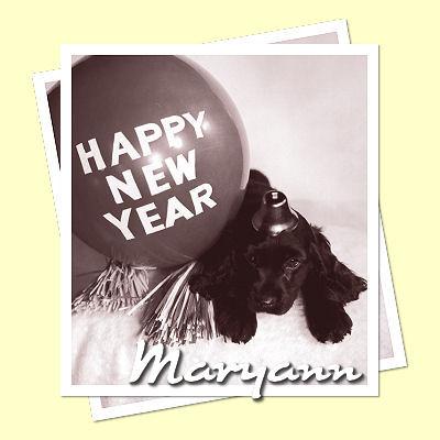 ...A 'Maryann' Happy New Year sig