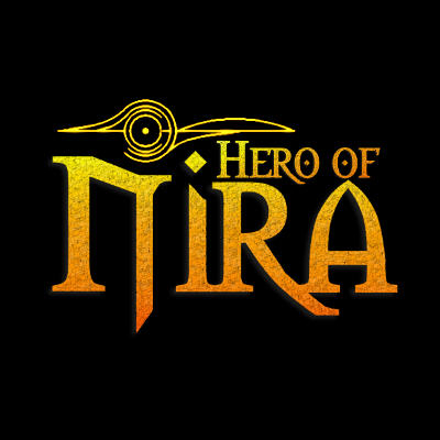 "Title page for ""Hero of Nira"""