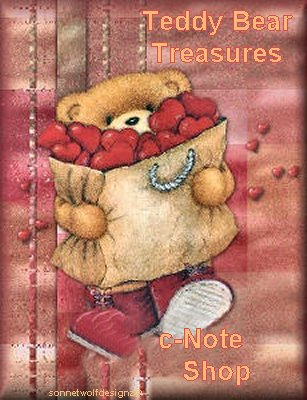 This is the banner for my Teddy Bear cNote shop