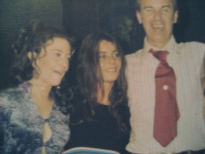 Me with my Greek family, 1973.