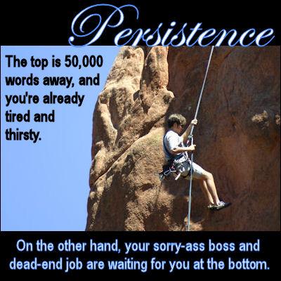 Persistence: A (de)Motivational cNote.