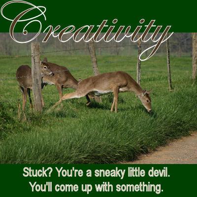 Creativity: a (de)Motivational cNote