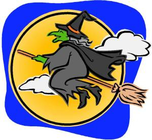 Witches and Broomsticks....