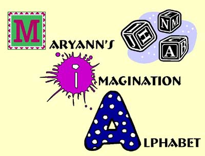 This is the picture for Imagination Alphabet.