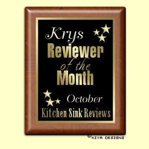 I can't believe I was reviewer of the month!!!