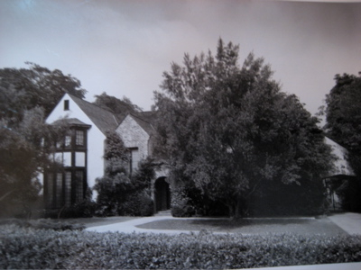 His childhood home