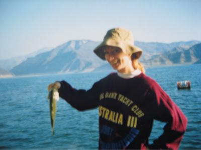 I do fish!