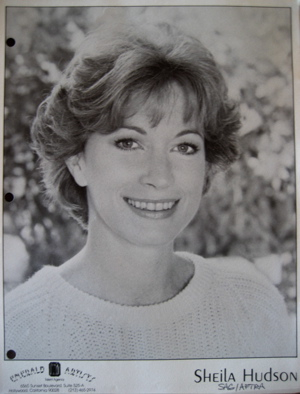 1984 Headshot for commercials.