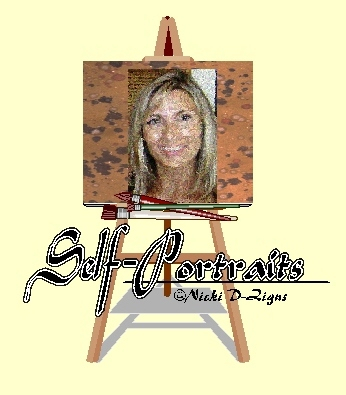 Banner for my folder entitled Self-Portraits