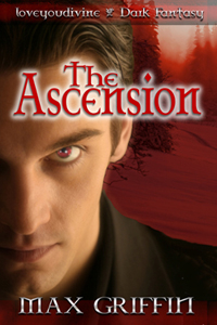 """Cover for the novella, """"The Ascension."""""""