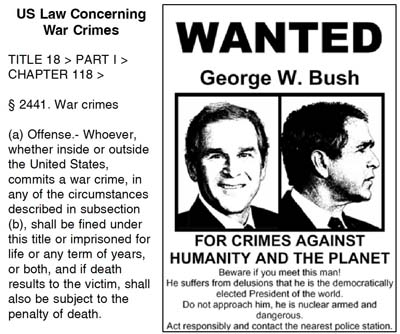 Bush War Crimes