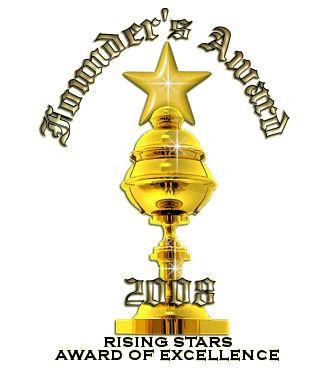 Rising Star Founder's Award ~ THANKS GAB!!!