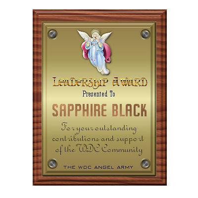 My Leadership Award!!