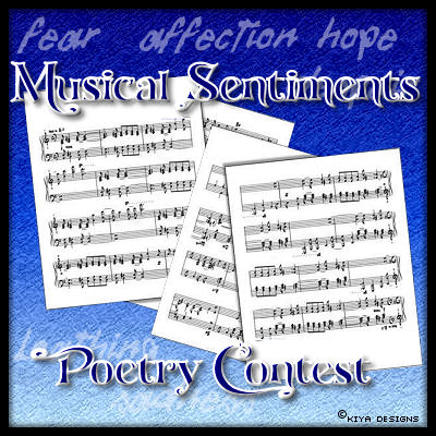 Banner for Musical Sentiments Poetry Contest