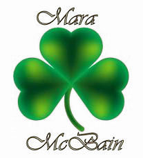 A beautiful shamrock signature made for me by the extraordinary Adriana Noir!