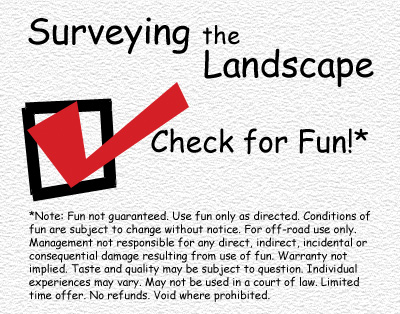A banner for my Surveying the Landscape folder