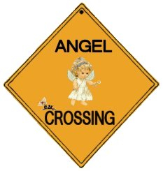 Angel Crossing Sign