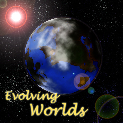 A banner for my Evolving Worlds folder.