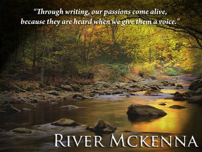 river image & quote