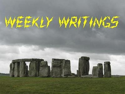 Just a pic for the Weekly Writings Contest
