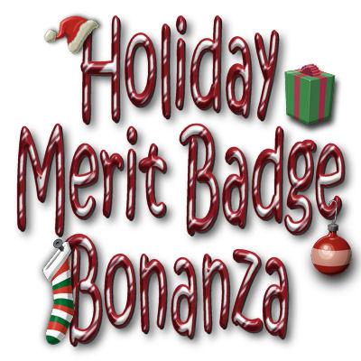 Merit Badge Birthday Bonanza Banner