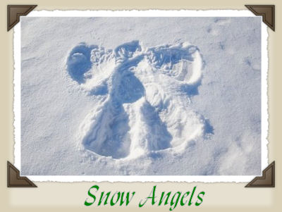 An image for the poem Snow Angels