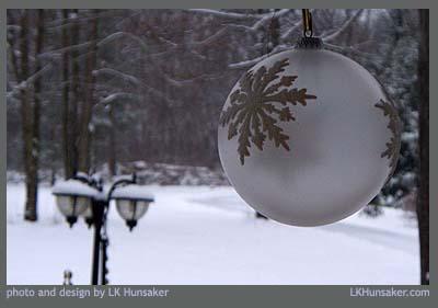ornament on porch