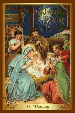 from the Christmas tarot---www.christmastarot.com