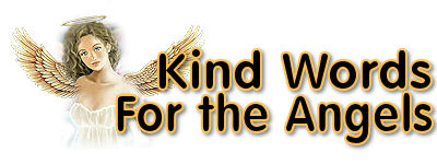 Angel Kind Words Banner