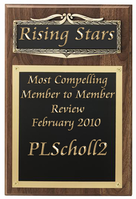 Rising Stars Most Compelling Review Award for February 2010